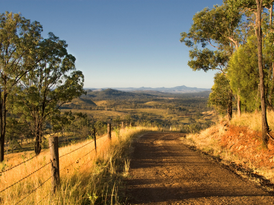 Image showing Old Spicers Road on the way to Governors Chair